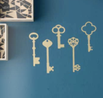 Ferm Living Skeleton Key Wall Stickers