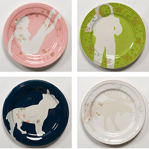 Sarah Cihat Rehabilitated Salad Plates